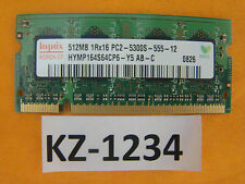 HYMP164S64CP6-Y5 AB 512 MB PC2 5300S 667Mhz DDR2 SO DIMM #Kz-1234
