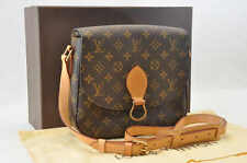 Authentic  Louis Vuitton Monogram Saint Cloud GM #S4226 [Excellent Condition]