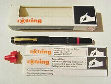 Rotring Rapidograph 1,2 mm , Tuschefüller, technisches Zeichnen,OVP