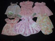 Baby Girls 3-6M 6M Summer Easter Church Dress Clothes Outfit Lot 0 3 6 Months