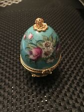 Hand Painted Porcelain Limoges Box