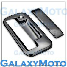 04-14 FORD F150+08-14 Super Duty Triple Black Chrome Plate Tailgate Handle Cover