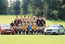 Mannschaft Audi Bayern München 04-05 seltenes Foto