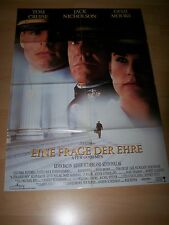 EINE FRAGE DER EHRE - Kinoplakat A1 ´93 - TOM CRUISE Jack Nicholson
