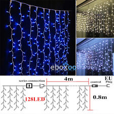 Icicle Hanging Snowing Fairy Curtain Lights String Christmas LED Wedding Party