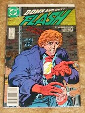 DC COMICS #20 FLASH DOWN AND OUT  HIGH GRADE FREE BAGGED & BOARDED