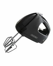 Proctor Silex 62507 5Speed Easy Mix Hand Mixer Black, New, Free Shipping