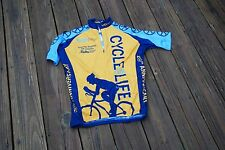 Tufts Medical Center Mens Small Cycling Jersey