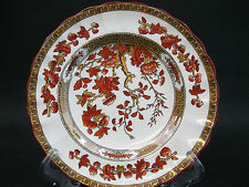 "Copeland Spode Indian Tree Orange Rust Small Bread Plate ~ 5 1/2""~ England"