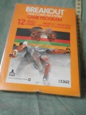 "ATARI 2600 "" BREAKOUT "" VIDEO GAME  CARTRIDGE  FONDO DI MAGAZZINO"