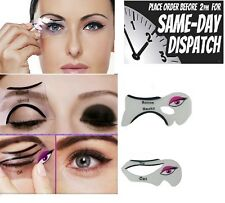 Stencils For Perfect Cat Eyeliner And Smoky Eyes 2 Pcs Makeup Tool Template UK