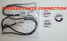 TOYOTA LEXUS OEM VALVE COVER GASKETS W/ CRANK AND CAM SEALS FOR GS300 & IS300