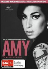 Amy (Dvd - 1 Disc Only) Amy Winehouse, Mark Ronson Documentary, Biography, Music