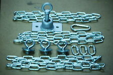 Swing set,tire swivel, Play set, tire kit, zinc plated eyebolts, 54'' zp chain