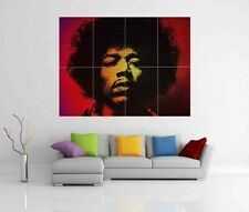 JIMI HENDRIX GIANT WALL ART PICTURE PRINT POSTER G26