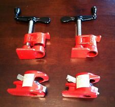 "NEW 1/2"" Wood Gluing Pipe Clamp Heavy Duty PRO Woodworking Cast Iron (Set of 2)"