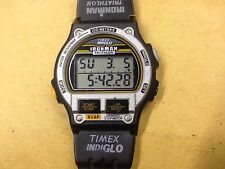 1996 Vintage Timex Ironman Triathlon Mens Watch Sports Digital