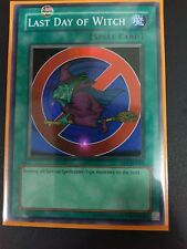 YUGIOH LAST DAY OF WITCH SUPER RARE GOOD DL9-EN001