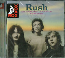 RUSH - Kiel Auditorium , St Louis, MO 1980 (Brand new & sealed)