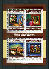 Mozambique 2015 MNH Peter Paul Rubens 4v M/S Art Paintings St George and Dragon
