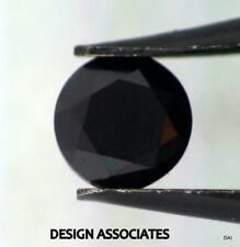 BLACK SAPPHIRE 4 MM ROUND CUT ALL NATURAL CALIBRATED AND FACETED AAA 4 PC SET