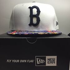 New Era 59Fifty Boston Red Sox 7 3/8 Fitted Baseball Cap  Free Post