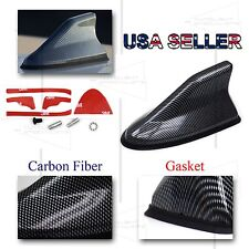 FOR IS FRS MODELS! JDM RACING SLIM PROFILE RADIO ANTENNA SHARK FIN STYLE CARBON