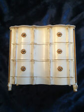 VINTAGE IDEAL PETITE PRINCESS PALACE CHEST OPENING DRAWERS SERPENTINE FRONT