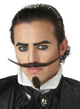 The Dandy Western Cowboy  Adult Costume Moustache & Beard