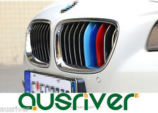 Car Auto 3D Kidney Grill 3 Color Cover Strip Cap Clip Tech  For BMW 316i 530i