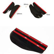 2x Car Rear View Side Mirror Rain Board Sun Visor Shade Shield Universal