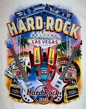 HARD ROCK CAFE LAS VEGAS STRIP CITY TEE T-SHIRT SIZE ADULT X-LARGE NEW WITH TAGS