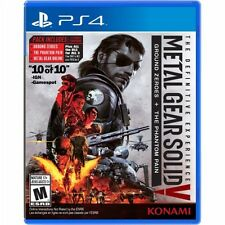 PS4 Metal Gear Solid V 5 Definitive Edition NEW Sealed Region Free Zero+Phantom