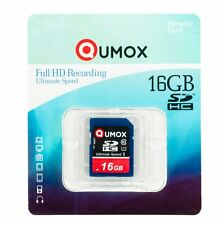 16GB QUMOX 80MB/s SD HC 16 GB Class 10 UHS-I Secure Digital Memory Card R