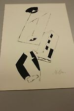 """MARC CHAGALL HAND SIGNED LITHO IN PENCIL """"MARC CHAGALL-DAS GRAPHISCHE WERK""""  COA"""