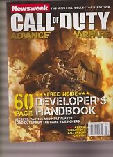 NEWSWEEK THE OFFICIAL COLLECTOR'S EDITION CALL OF DUTY ADVANCE WARFARE 2014.