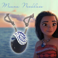 New Movie Moana Disney Princess Cosplay Necklace Seashell Pendant Props Jewelry