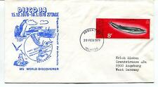 1979 Disco 34 MS World Discoverer Argentine Islands Polar Antarctic Cover