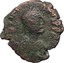Justinian I 527Ad Big Rare Authentic Ancient Byzantine Coin Long Cross i28375