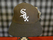 Vtg Chicago White Sox Hat Snapback American Needle Houndstooth Low Pro DEADSTOCK