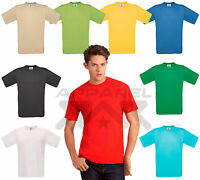 Branded 100% Cotton Crew Neck T Shirt Short Sleeve Plain Blank TShirt New B&C