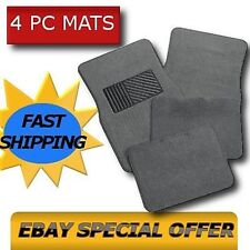GRAY CAR FLOOR MATS Carpet Pads Fits all Cars Trucks Suvs OEM All Colors CS1