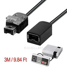 3m Game Controller Extension Cable Cord for Nintendo Mini NES/Wii Controller