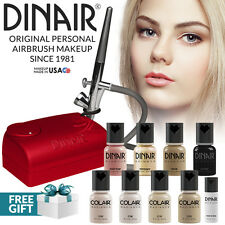 Dinair Airbrush Makeup Kit Personal Professional Fair Shades 4pc Colair