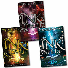 Inkheart Trilogy 3 Book Collection Set Series Pack Inkspell, Inkdeath, Inkheart