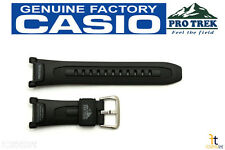 CASIO Pro Trek Pathfinder PRG-240 Original Black Rubber Watch BAND Strap PRG-40