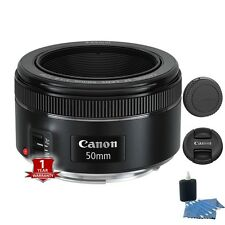 New Canon EF 50mm f/1.8 STM Lens Sale with Lens Cleaning Kit