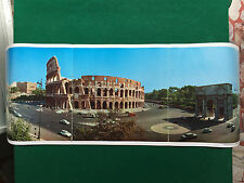 AF23 Poster Clipping Werbung 78x29 cm - L'ITALIA IN FOTORAMA IL COLOSSEO ROMA