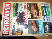 / Retromania n°45 2 CV 304 Berline -coupe-Cab . Coupé Mazda Kadett GT/E