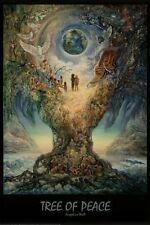 TREE OF PEACE - JOSEPHINE WALL ART POSTER - 24x36 FANTASY 9537